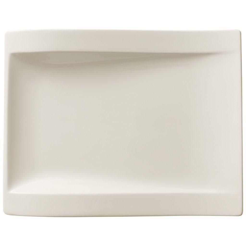 VILLEROY & BOCH Frühstücksteller rechteckig 26x20cm »NewWave«