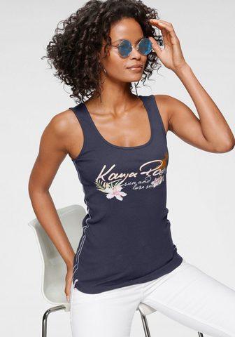 KangaROOS Marškinėliai be rankovių su femininem ...