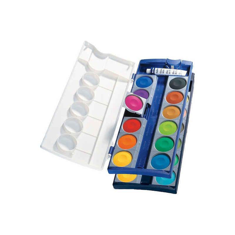 Pelikan Malpalette »Deckfarbkasten K24, 24 Farben, inkl. Deckweiß«
