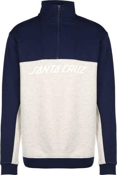 Santa Cruz Sweatshirt »Astro 1/4 Zip Crew«