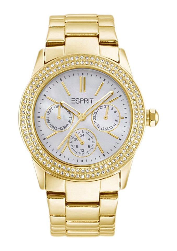 "ESPRIT, Armbanduhr, ""ESPRIT-TP10382 GOLD, ES103822012"" in goldfarben"