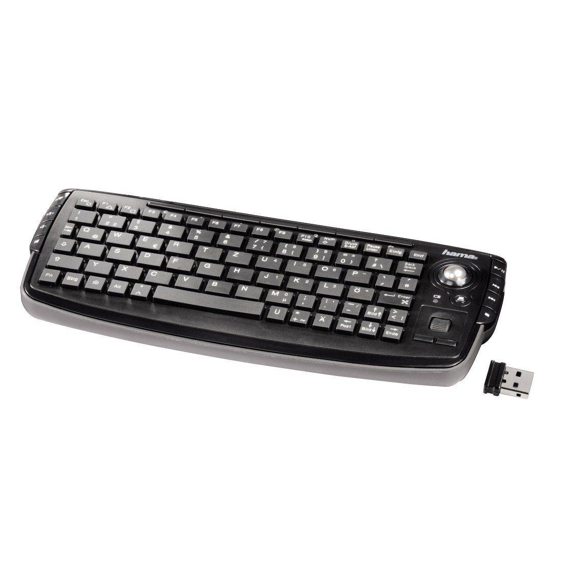 """Hama Wireless Tastatur kabellos für PS3 und Xbox360 """"Live"""" »schwarz«"""