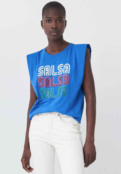 Salsa Muskelshirt »SAMARA« Regular T-Shirt No Sleeve