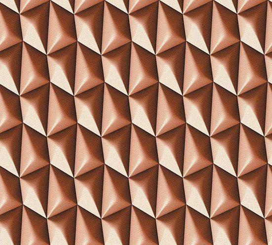 living walls Vliestapete »Harmony in Motion by MacStopa«, glatt, grafisch, matt, 3D-Optik, (1 St), glatt