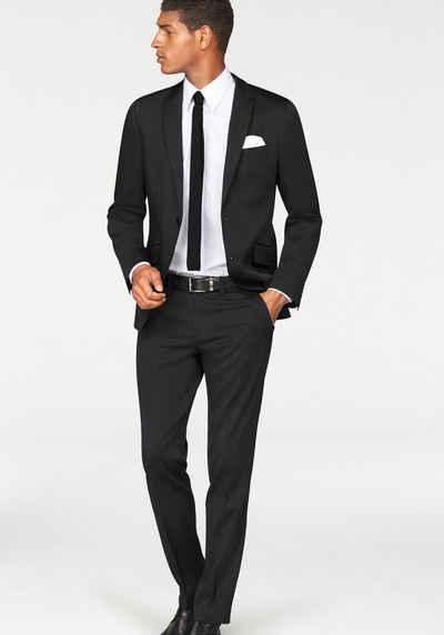 Bruno Banani Anzug 4-teilig »Bruno Banani BB3511PB der perfekte Gentlemen Dress«