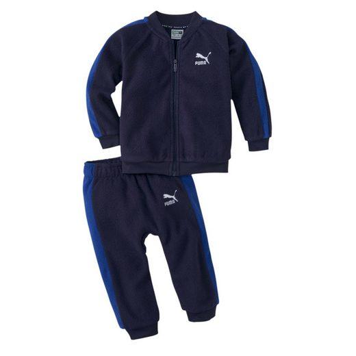 PUMA Trainingsanzug »Minicats Polar Fleece Baby Jogginganzug«