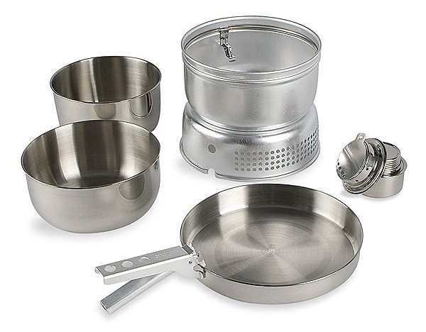Tatonka Camping-Kocher »Multi Set + Alcohol Burner« in silber