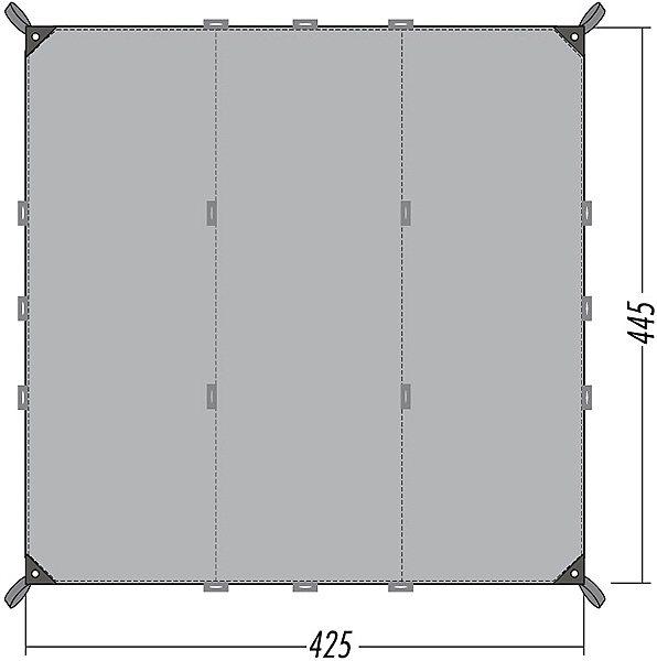 Tatonka Zelt »Tarp 1 Simple« in grau