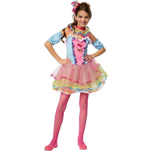 tectake Kostüm »Mädchenkostüm Neon Regenbogen Girl«