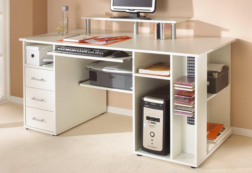 schreibtisch baku mit tastaturauszug schildmeyer online kaufen otto. Black Bedroom Furniture Sets. Home Design Ideas