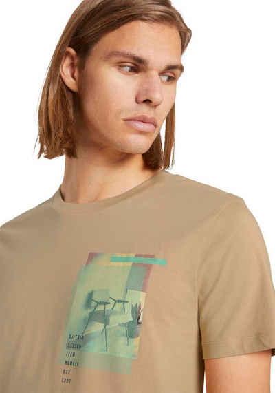 TOM TAILOR Denim Longshirt mit großem Frontprint