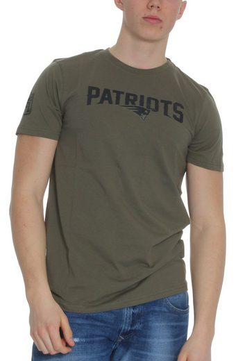 New Era T-Shirt »New Era NFL Camo Wordmark T-Shirt Herren NEW ENGLAND PATRIOTS Khaki«