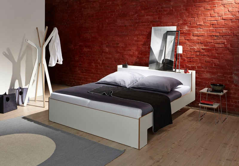 Müller SMALL LIVING Bett »NOOK«, in vier Breiten, Design by Michael Hilgers