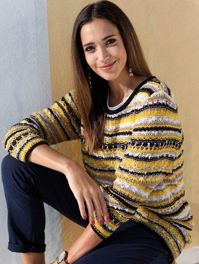 MIAMODA Pullover mit modischem Effektgarn