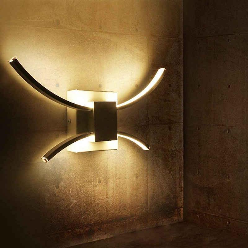 ZMH LED Wandleuchte »LED Wandleuchte Innen Wandlampe Up Down Licht weiß 11W 3000K Neutral Licht Schlafzimmer Wandbeleuchtung Wohnzimmer Wandlicht Wandstrahler Treppenhaus Kinderzimmer«