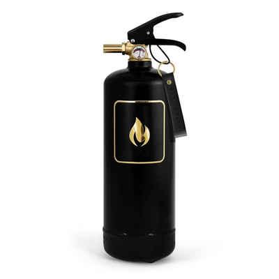 Nordic Flame Pulver-Feuerlöscher »Nordic Flame Feuerlöscher Schwarz Gold 2 Kg«