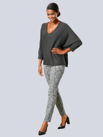 Alba Moda Pullover in lässiger Form