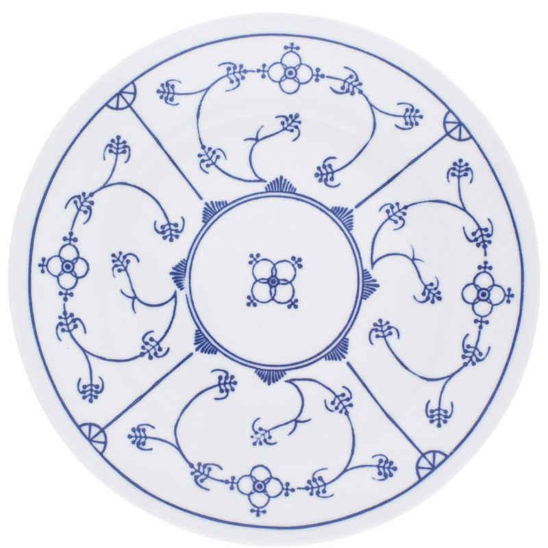 Kahla Speiseteller »Blau Saks«, von Hand dekoriert