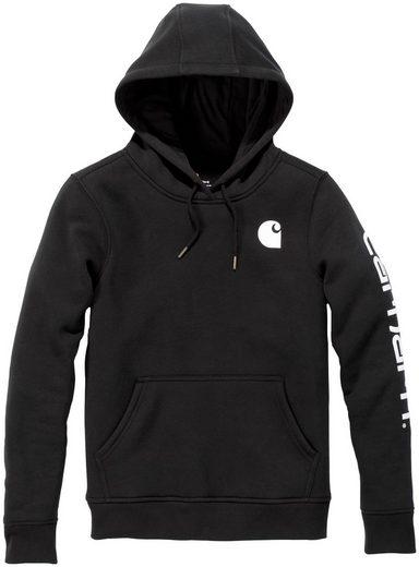 CARHARTT Sweatshirt »CLARKSBURG«, BLACK, Damen Pullover