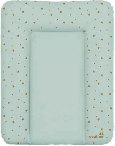 Geuther Wickelauflage »Wickelmulde Lilly, blau Sterne«, Made in Europe