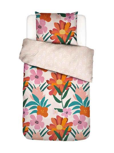 Bettwäsche »No Wallflower«, Covers & Co, mit floralem Muster
