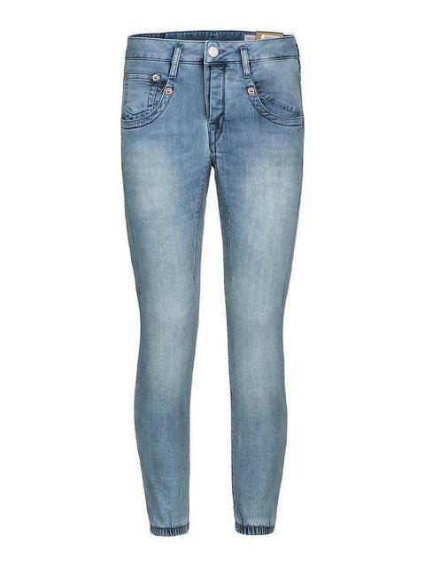Herrlicher 7/8-Jeans mit hohem Bund | Bekleidung > Jeans > 7/8-Jeans | Herrlicher