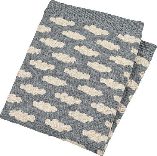 Babydecke »GOTS Strick-Schmusedecke«, Sterntaler®, aus Organic Cotton