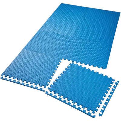 tectake Bodenschutzmatte »Bodenschutzmatte 8-tlg.«, 8-St.