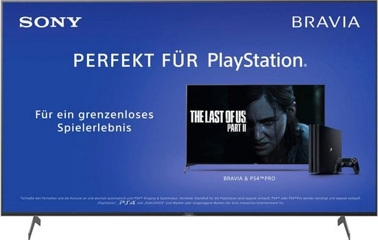 Sony KD43XH8096 LED-Fernseher (108 cm/43 Zoll, 4K Ultra HD, Android TV)