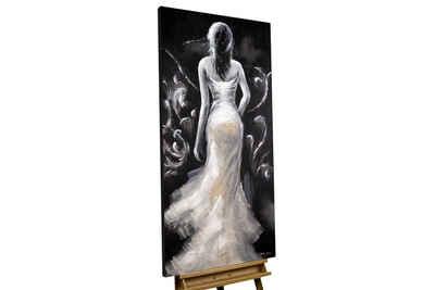 KUNSTLOFT Gemälde »All Eyes on Me«, handgemaltes Bild auf Leinwand