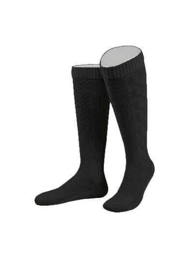 Almbock Trachtensocken »Trachten Socken lang« (1-Paar) schwarz