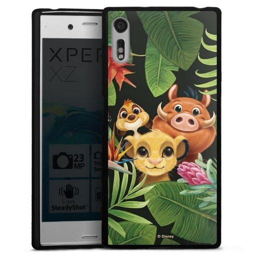 DeinDesign Handyhülle »Simbas Friends« Sony Xperia XZs, Hülle Disney Simba Timon und Pumbaa