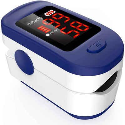 cofi1453 Herzfrequenzsensor »Edle Finger Sättigung Meter mit Sauerstoffsättigung und Herzfrequenz-Monitor OLED-Display Fingerpulsoximeter Herzfrequenz«