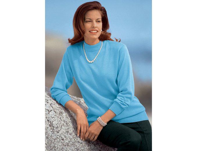 Classic Pullover, pflegeleicht und strapazierfähig