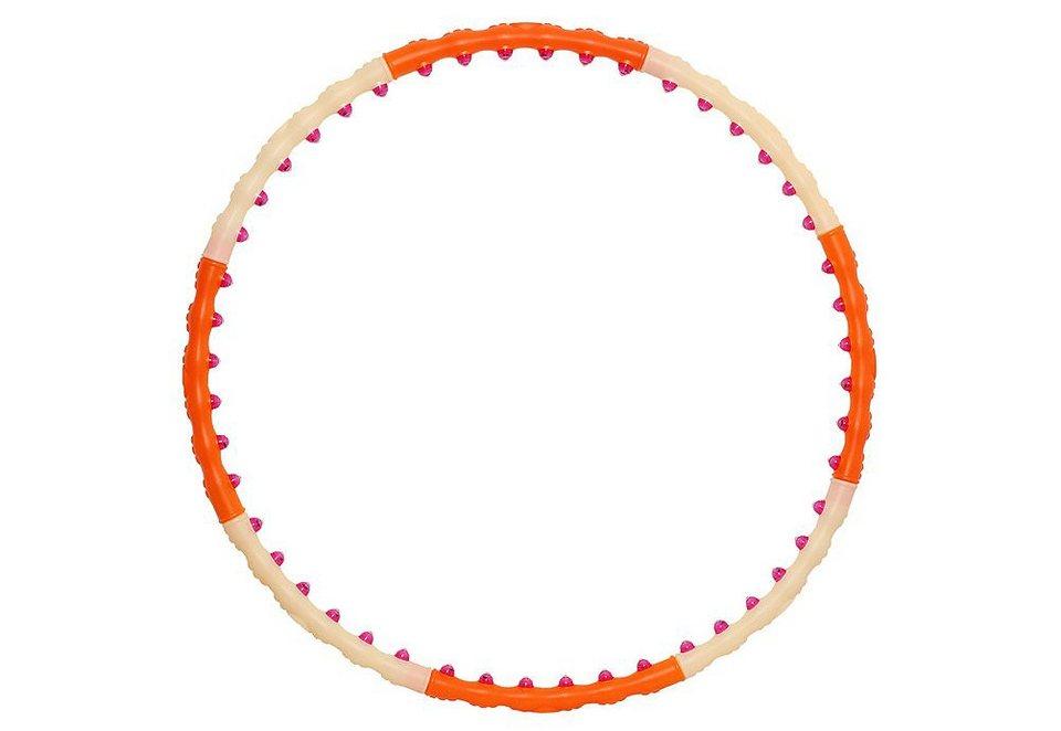 Hula Hoop Reifen, Health Hoop, »Magnetic II (1200 Gramm)« in orange