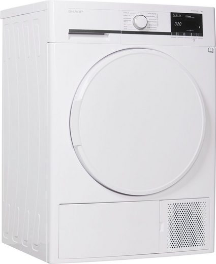 Sharp Wärmepumpentrockner KD-GHB7S7PW2-DE, 7 kg