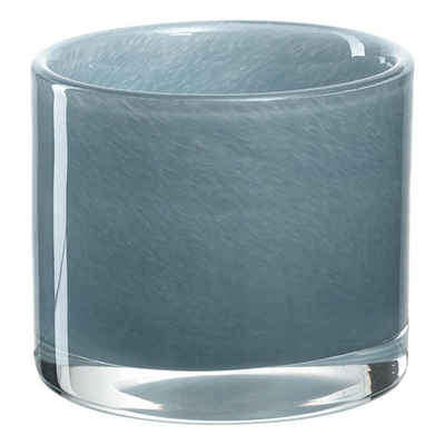 LEONARDO Teelichthalter »MILANO Blau 8 cm«