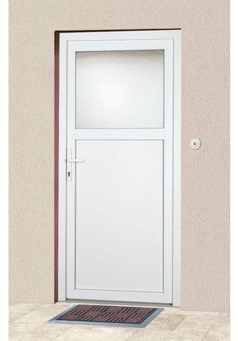 KM Zaun Haustür »K601P« BxH: 98 x 198 cm weiß ...