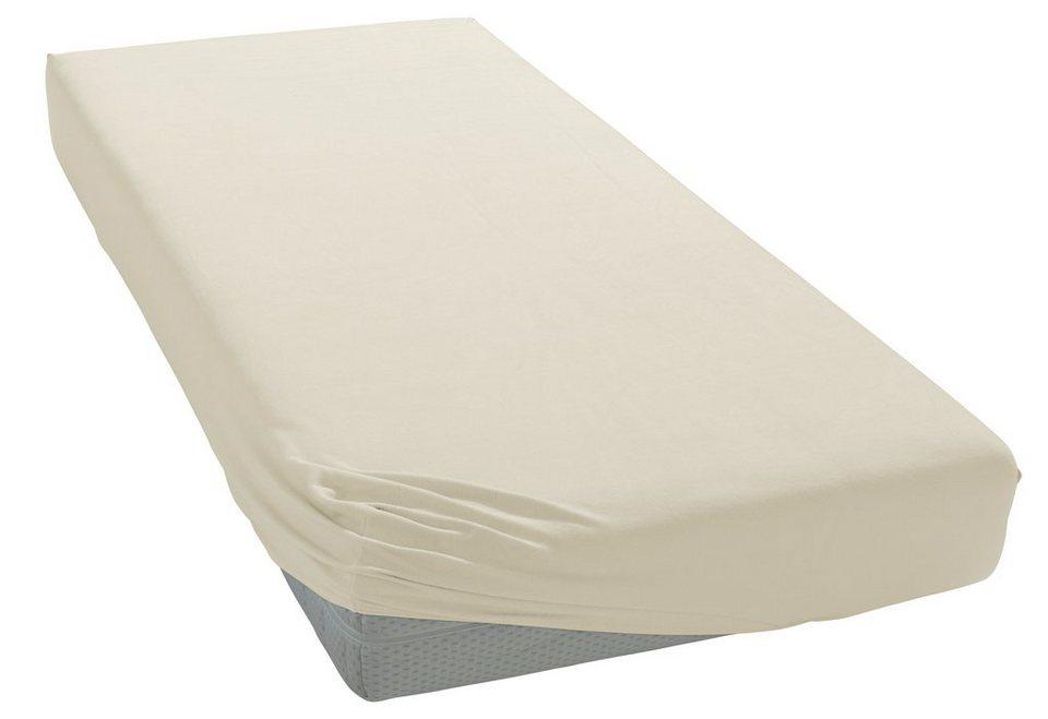spannbettlaken jersey elasthan heike mit rundumgummizug online kaufen otto. Black Bedroom Furniture Sets. Home Design Ideas