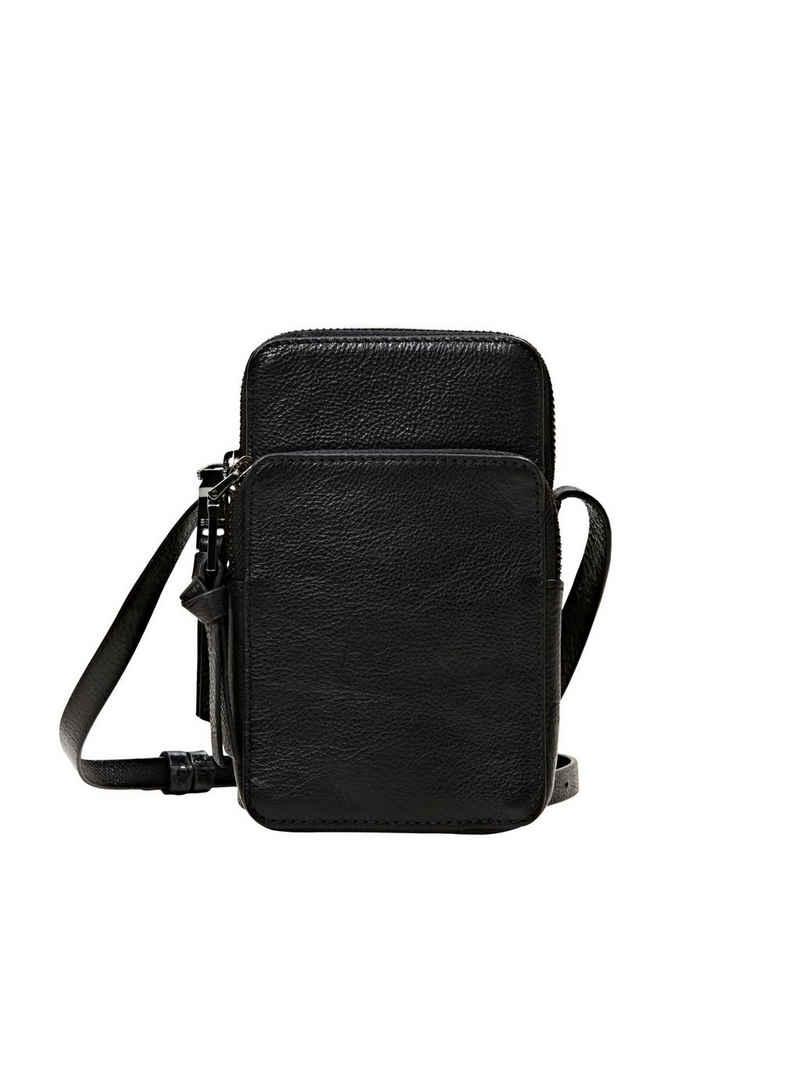 Esprit Schultertasche »Smartphone-Tasche aus Leder«
