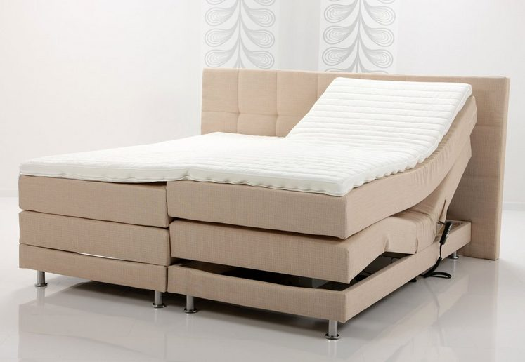 Breckle Boxspringbett in beige