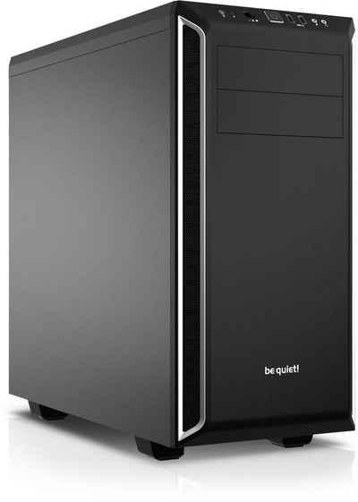 Kiebel Silent Master V Business-PC (AMD Ryzen 9 AMD Ryzen 9 5900X, GT 1030, 64 GB RAM, 1000 GB SSD, Luftkühlung)