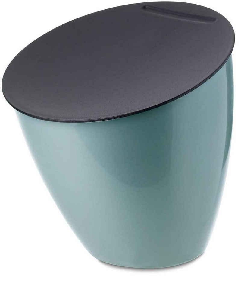 Mepal Tischrestebehälter »Abfallbehälter Calypso Nordic Green Tischabfall«, BPA-frei