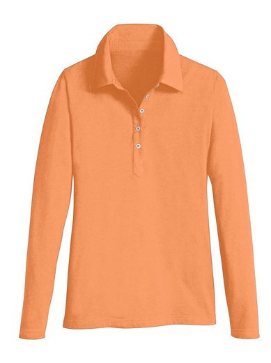 Casual Looks Langarm-Poloshirt