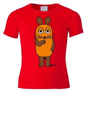 LOGOSHIRT Printshirt mit lizenziertem Originaldesign »Die Maus«