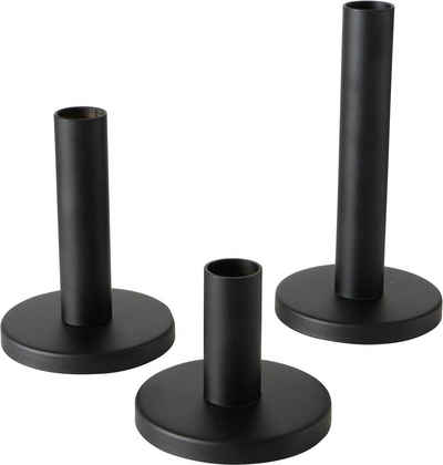 BOLTZE Kerzenleuchter »Malko« (Set, 3 Stück), aus Eisen