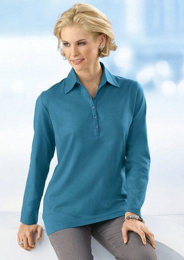 Classic Basic Poloshirt in aktueller Rippoptik
