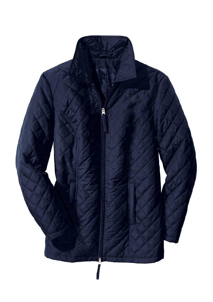 Classic Basics Jacke mit Hemdkragen in marine