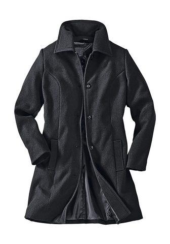 CLASSIC BASICS Пальто с накладка для плеча