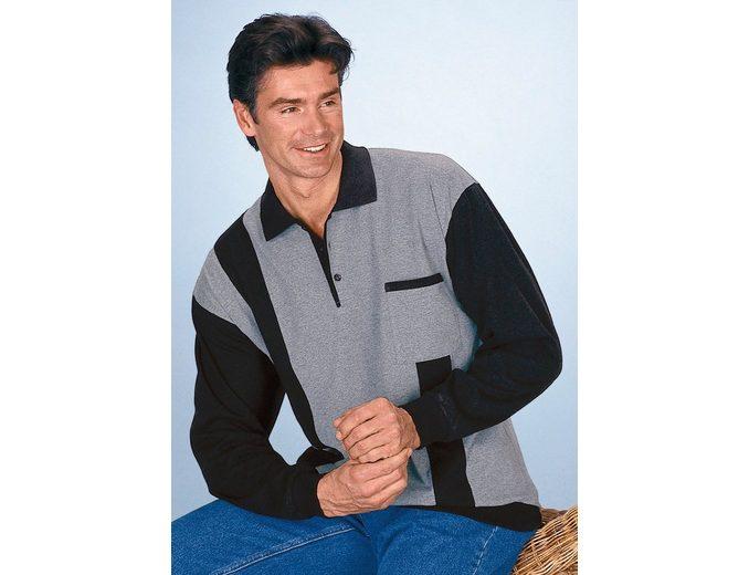 Classic Basics Poloshirt in attraktivem Streifendessin Für Schönen Verkauf Online Countdown-Paket iM8Gn
